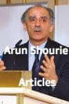 Arun Shourie Articles